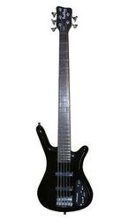 Rockbass CORVETTE BASIC 5 Black Highpolish SALE