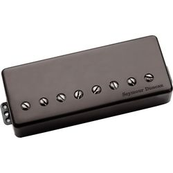 Seymour Duncan 8str Pegasus Bridge PMT Black Uncover