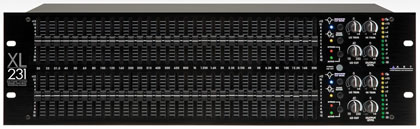 ART представляет XL231 – 2х-канальный 31-полосный профессиональный графический эквалайзер