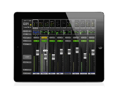 StageMix iPad® Version 3 для M7CL и LS9