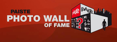 Фотоконкурс Paiste Set-up Wall of Fame